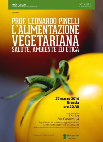 Conferenza Leonardo Pinelli a Brescia