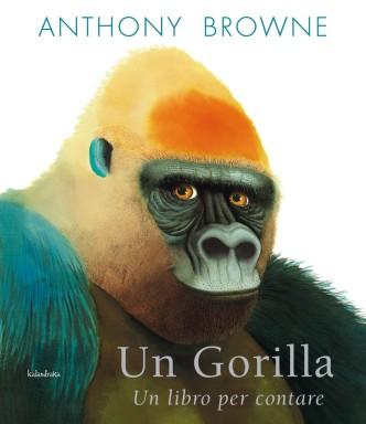 Un gorilla - libro per contare