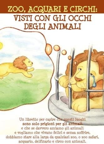 Zoo, acquari e circhi visti con gli occhi degli animali