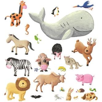 """Illustrazione di Andere Andrea Petrlink dal libro """"Siamo vegani"""""""