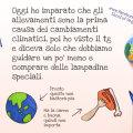 L'impatto ambientale degli allevamenti, dal punto di vista di un bambino (illustrazione di Skool of Vegan)