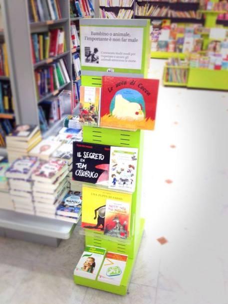 Angolo veg in libreria